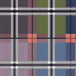 Opulent Plaid in Gems