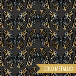 Queen in Metallic Ash