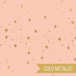Stars in Blush Metallic