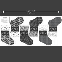 Stockings Panel in Onyx
