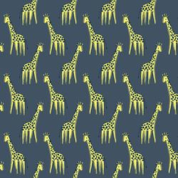 Giraffe in Denim