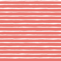 Artisan Stripe in Living Coral