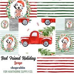 Best Friend Holiday Large Fat Quarter Bundle