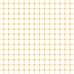 Summer Gingham Check in Golden Cream