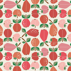 Orchard in Apple Red