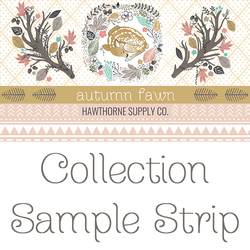 Autumn Fawn Sample Strip