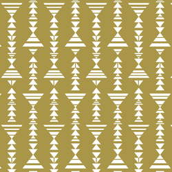 Little Tribal Stripe in Gold