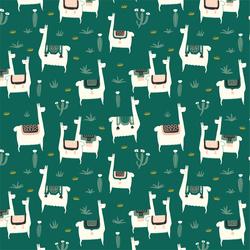 Llama Llife in Green