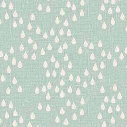 Rain Drops in Fresh Mint