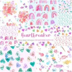 Heartbreaker Fat Quarter Bundle Big Scale