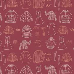 Papercut Wardrobe in Crimson
