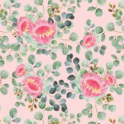 Protea in Soft Petal