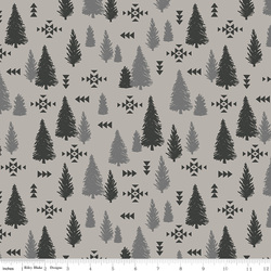 Trees in Light Gray