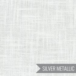 Manchester Yard Dyed Metallic in White