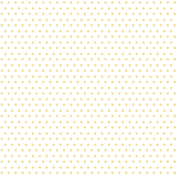 Winter Dot in Sunny Yellow on White