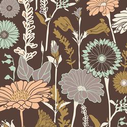 Flower Field in Soil
