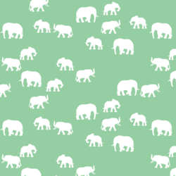 Elephant Silhouette in Sprout