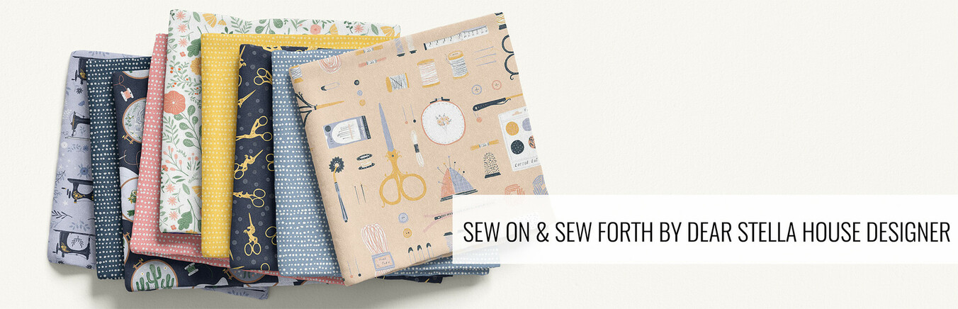 Sew On and Sew Forth