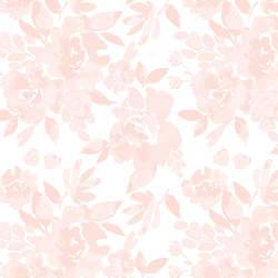 Royal Garden in Blush Pink