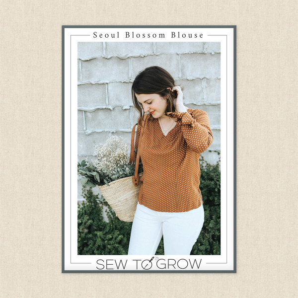 Seoul Blossom Blouse Sewing Pattern