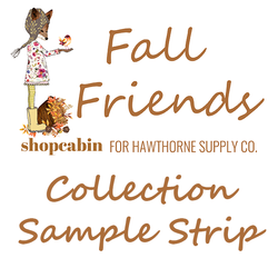 Fall Friends Sample Strip