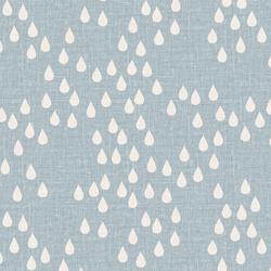 Rain Drops in Light Blue
