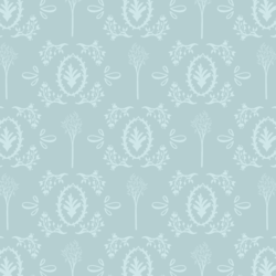 Woodland Toile in Soft Spruce