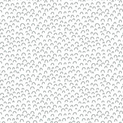 Doodle in Eucalyptus in White