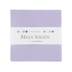 Bella Solids Charm Pack in Lilac