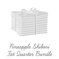 Pineapple Shibori Fat Quarter Bundle