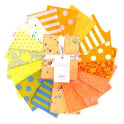 Tula's True Colors Fat Quarter Bundle in Goldfish