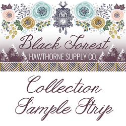 Black Forest Sample Strip