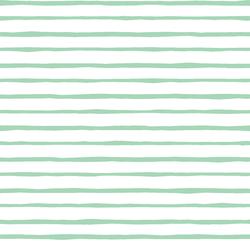 Artisan Stripe in Seaglass on White