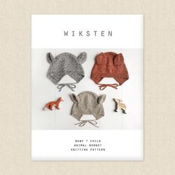 Knitted Animal Bonnet