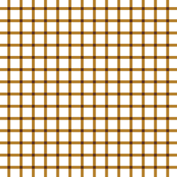 Summer Gingham Check in Golden Chocolate
