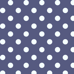 Marble Dot in Indigo