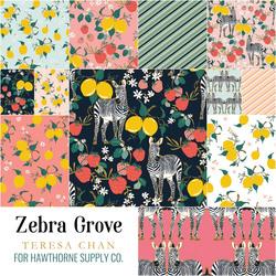 Zebra Grove Fat Quarter Bundle