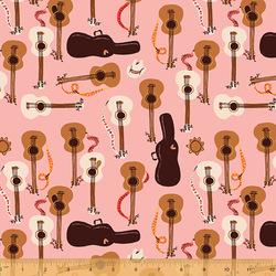 Guitars in Pink