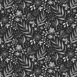 Flutter Floral in Ebony