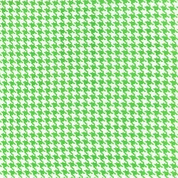Tiny Houndstooth in Mint