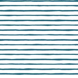 Artisan Stripe in Topaz on White