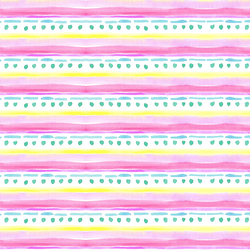 Icing Stripe in Bright Pink