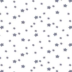 Star Light in Dove on White