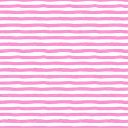 Stripes in Fuschia Pink