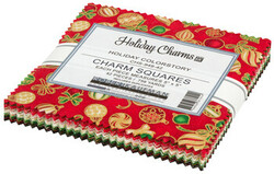 Holiday Charms Charm Squares in Holiday Colorstory