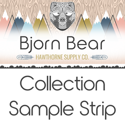 Bjorn Bear Sample Strip