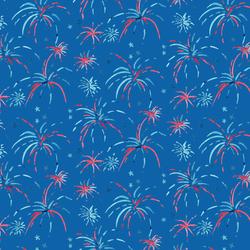Fireworks in True Blue