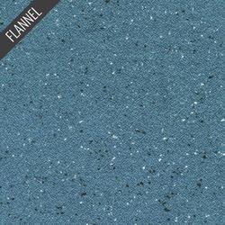 Shetland Speckle Flannel in Blue Jay