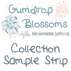 Gumdrop Blossoms Sample Strip