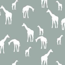 Giraffe Silhouette in Eucalyptus
